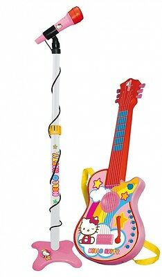 Reig Hello Kitty 6-String Guitar and Microphone. Delivery is Free