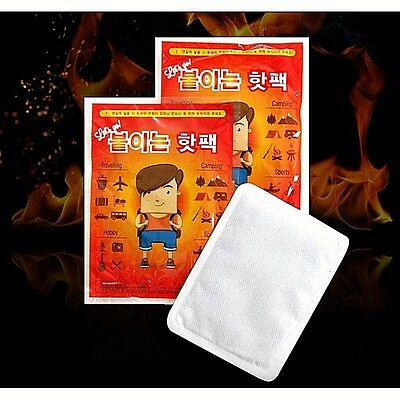 HOT PACK warmer adhesive hot pack heating winter sports 8Hours Heat