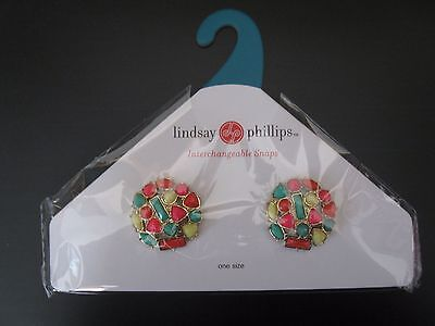 Lindsay Phillips Pair of Claire Shoe Snaps Last One & Rare!  NIP