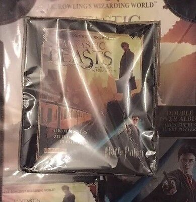 Panini Fantastic Beast Stickers Full Box X 50 Packets and Album