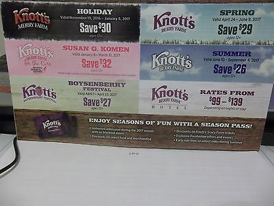 *Knotts Berry Farm Coupons.** 6 Diferent coupons**{{ 2017 }}**Free  Shipping**