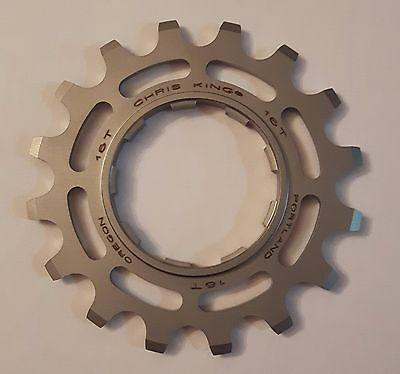 Chris King Cog 16T Stainless Steel Single Speed 3/32 16 Tooth NEW PHB10116 BMX