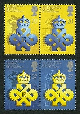 Great Britain 1990 #1318-1321 Queen's Awards Export and Technology Stamps