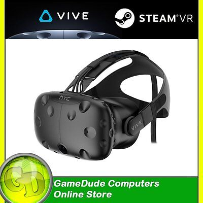 HTC VIVE 3D VIRTUAL REALITY HEADSET VR Gaming Kit SteamVR Head-mounted (3)
