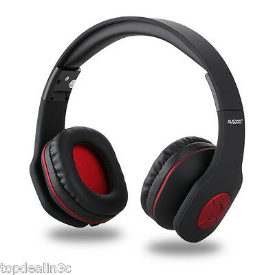 Cuffie Bluetooth cuffia Stereo Bass Wireless Senza Fili con Microfono 3.5mm Aux
