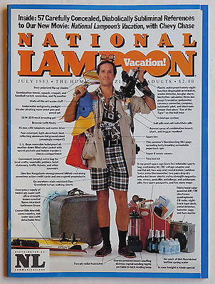 NATIONAL LAMPOON Magazine - July 1983 - Humour, Satire