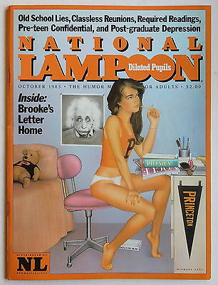 NATIONAL LAMPOON Magazine - October 1983 - Humour, Satire