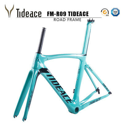 Full Carbon Road Bike Bicycle Frame Fork Seatpost Clamp Matte Cycling Frameset