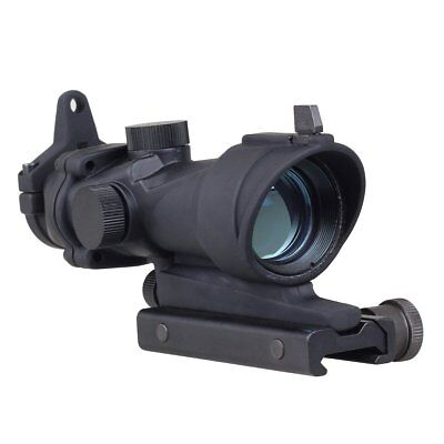 1x32 Tactical Illumination Red/Green Dot Sight Rifle Scope Airsoft Hunting