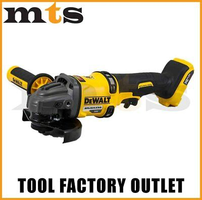 Dewalt 54V Xr Flexvolt Dcg414 Cordless Brushless 125Mm Angle Grinder