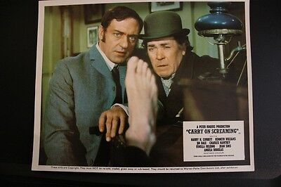 Carry On Screaming - Uk Foh Lobby Card #2