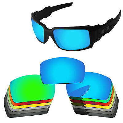 Polarized Replacement Lenses For-Oakley Oil Drum Multi-Options