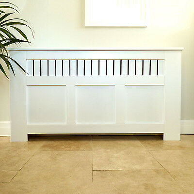 Jack Stonehouse Panel Painted Radiator Cover White