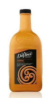 DaVinci Caramel Sauce 2L * FREE SHIPPING * Same Day Dispatch if paid by 2pm *