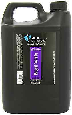 Groom Professional Bright White Coconut Scented Dog Whitening Shampoo 4 Litre