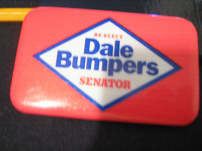 Dale Bumpers Arkansas Senator Democrat Governor Political Campaign Button