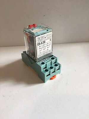 Releco MR-C C5-A30X 120V Relay with Socket