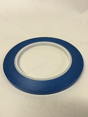 Acrylic BLUE Fine Line Masking Tape 6mm High Temperature x 1 Roll