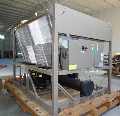 2008 York YCAL0042 40 Ton Air Cooled Chiller 200V / 220V 3 phase, Runing low hrs