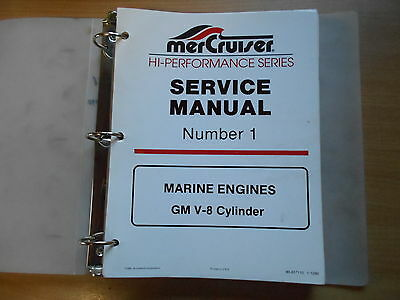 Service manual MERCRUISER Marine engines GM V8 MCM 420 425 465B 500 575
