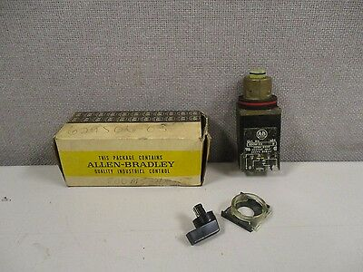 New Allen Bradley 800Ms-Hh2Bla Series C 2 Position Selector Switch