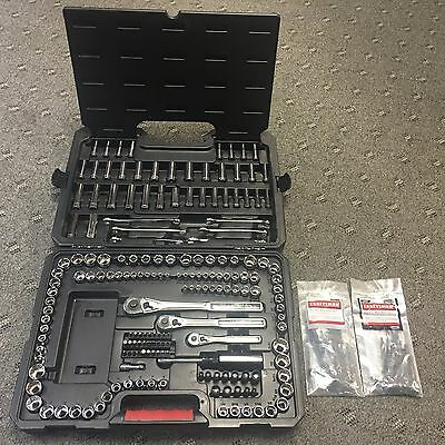 Craftsman 220 piece Mechanics Tool Set w/ Case Socket Ratchet Wrench Standard MM