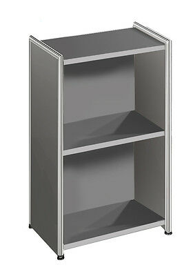 Büroschrank Regal Artline 2 OH 41x38x78 cm Chrom