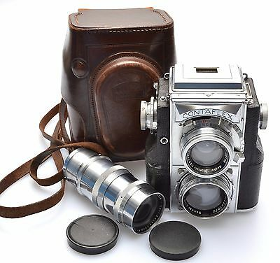 Zeiss Contaflex TLR with Sonnar 1.5F5cm, 4F13.5cm