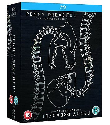 Penny Dreadful: The Complete Series 1 to 3 Box Set - New Blu-Ray - Eva Green