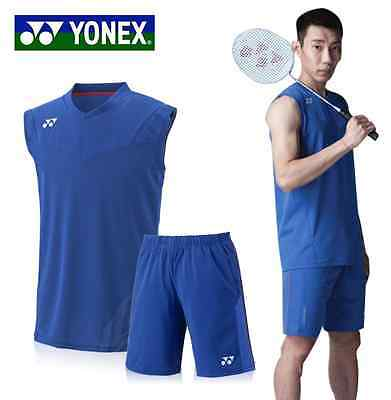 Yonex Badminton Top - Cool Sportswear Sports Shirt Badminton Clothing - UK Stock