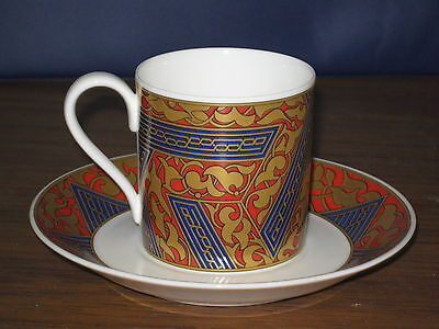 Villeroy & Boch Bone China Ornamentic Byzance Cup Saucer Heinrich Germany #DH29