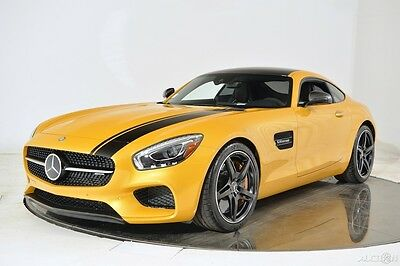 2016 Mercedes-Benz Other AMG GT S olarbeam Carbon Ceramic Fiber Exterior Exclusive Leather Dynamic Plus Tracking
