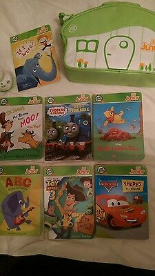 Leapfrog Tag Junior - storage case and 7 books included