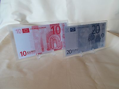 Now You See Me - Vault Euro Prop Money Set with COAs and Stands