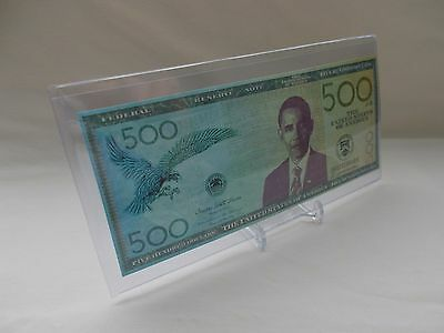 Minority Report - $500 Obama Prop Money with Stand and COA