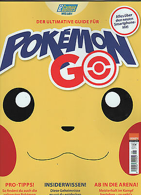 Der ultimative Guide für POKEMON GO von PC Games, neu November 2016, ungelesen