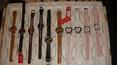 Trade Only Job Lot Of 10 New  X  Mixed Elle Watches 100% Gen.