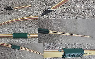 New Year Sale £259  NOBLE LONGBOW 20-70# 4 lam Lemonwood Belly  bow Only