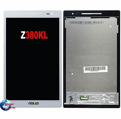 Touch + display LCD bianco assemblato Asus ZENPAD 8 Z380KL