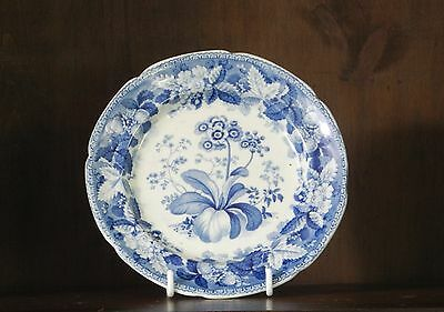 Ridgeway pearlware blue and white transfer printed side plate C1830