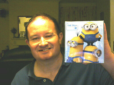 The Minions Despicable Me Box Decorated 60 3 Ply Tissues Great Xmas Gift!