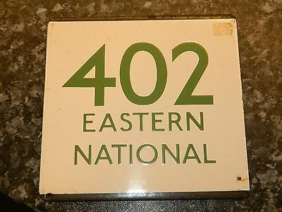*(Buy It Now) London Transport E plate 402 Eastern National