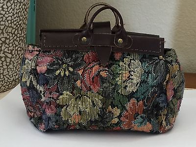 American Girl Doll Kirsten Travel Tapestry Bag Pleasant Company RETIRED