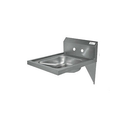"BK Resources BKHS-ADA-S 14""W ADA Compliant Hand Sink without Faucet"
