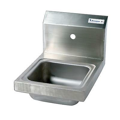 Bk Resources Space Saver Wall Mount Hand Sink Without Faucet - Bkhs-W-Ss-1