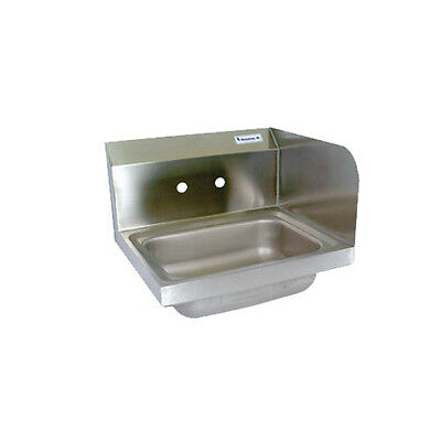 "BK Resources BKHS-W-1410-RS 14""W Wall Mount Hand Sink without Faucet"