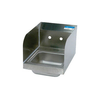 BK Resources BKHS-W-SS-SS Space Saver Wall Mount Hand Sink without Faucet