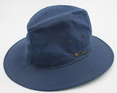 Vintage Stetson Boy Scout Blue Hat Size Medium M - Adult / Teen - Free Shipping!