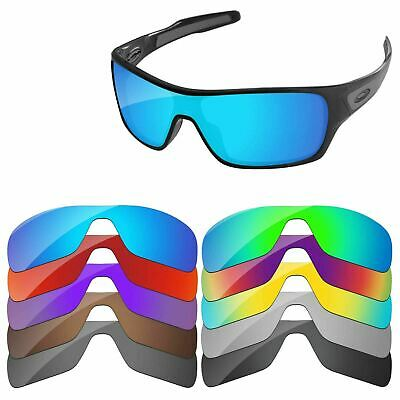 PapaViva Polarized Replacement Lenses For-Oakley Turbine Rotor Multi-Options