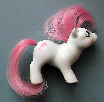 MON PETIT BEBE PONEY HASBRO G1 My Little Pony Baby Cuddles - Made in Hong Kong